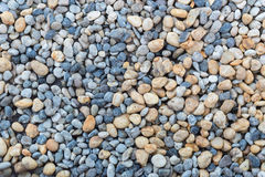 Mix color gravel for background. Texture Royalty Free Stock Photography