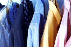Mix color Shirt and Tie Royalty Free Stock Photo