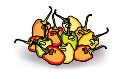 Free Mix Colors Habanero Chillies Stock Photography - 85907002
