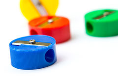 Mix colors pencil sharpener. Stock Image