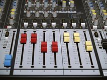 Mix Console Stock Photos