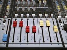 Mix Console Stock Photos