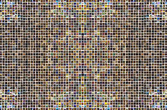 Mix coolr pixel mosaic background Stock Images