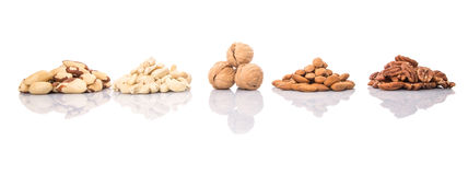 Mix Culinary Nuts I Royalty Free Stock Image
