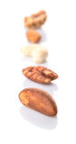 Mix Culinary Nuts VI Stock Photography