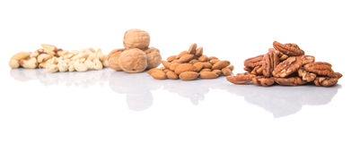 Mix Culinary Nuts VII Stock Photos