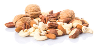 Mix Culinary Nuts X Stock Image