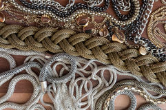 Mix of different chains Royalty Free Stock Photography