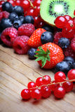Mix of differrerent berrie Stock Images