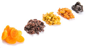 Mix Dried Fruit Variety IV Stock Photo