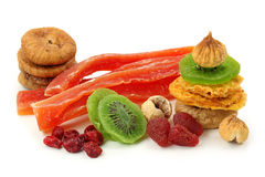 Mix of dried fruits Royalty Free Stock Photography