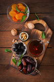 Mix dried fruits royalty free stock photography