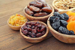 Mix of dried fruits Royalty Free Stock Image