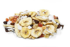 Mix dried fruits royalty free stock photos