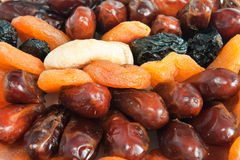 Mix of dry fruit Stock Photos