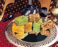 Mix Dry fruit Halwa stock image