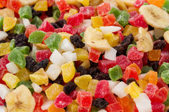 Mix from dry fruits Stock Image