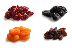 Mix dryed fruits Stock Photo