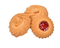 Mix flavour bakery biscuits image Royalty Free Stock Image