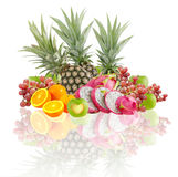 Mix fresh fruits Royalty Free Stock Images