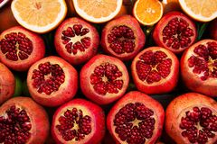 Mix fresh fruits Royalty Free Stock Image