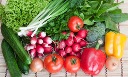 Mix of fresh vegetables Royalty Free Stock Image