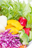 Mix Fresh Vegetables. Royalty Free Stock Image