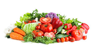 Mix of fresh vegetables. Royalty Free Stock Image
