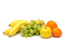 Mix of fruit  Royalty Free Stock Photo