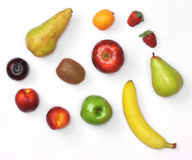 Mix of fruit Royalty Free Stock Photos