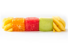 Mix fruit is fresh. For health Royalty Free Stock Image
