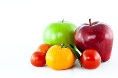 Mix fruit isolated Royalty Free Stock Photography