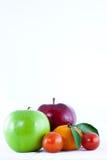 Mix fruit isolated Stock Images