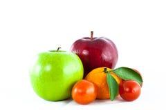 Mix fruit isolated Stock Photography