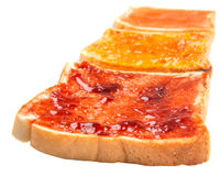 Mix Fruit Jam Spread And Toast VIII Stock Images