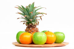 The mix fruit. Royalty Free Stock Image