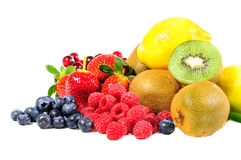 Mix fruit Stock Photography