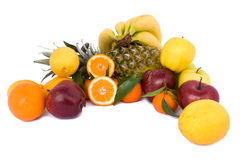 Mix Of Fruits Stock Images
