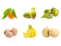 Mix Of Fruits Stock Photos