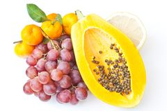 Mix fruits Royalty Free Stock Images