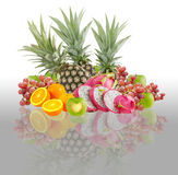 Mix fruits Stock Photo