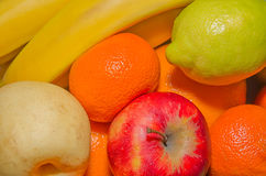 MIX FRUITS. Background.Fresh fruits.Healthy eating, dieting concept, clean eating Stock Photo