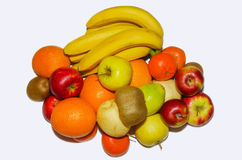 MIX FRUITS. Background.Fresh fruits.Healthy eating, dieting concept, clean eating Royalty Free Stock Photo