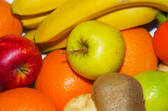 MIX FRUITS. Background.Fresh fruits.Healthy eating, dieting concept, clean eating Royalty Free Stock Photos