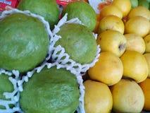 mix fruits background stock photography