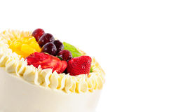 Mix fruits Cake Stock Image