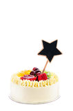 Mix fruits Cake Royalty Free Stock Images
