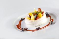 Mix Fruits dessert Royalty Free Stock Photos