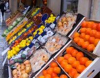 Mix  fruits on market Stock Image