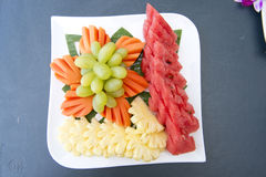 Mix fruits for after meals Royalty Free Stock Photo